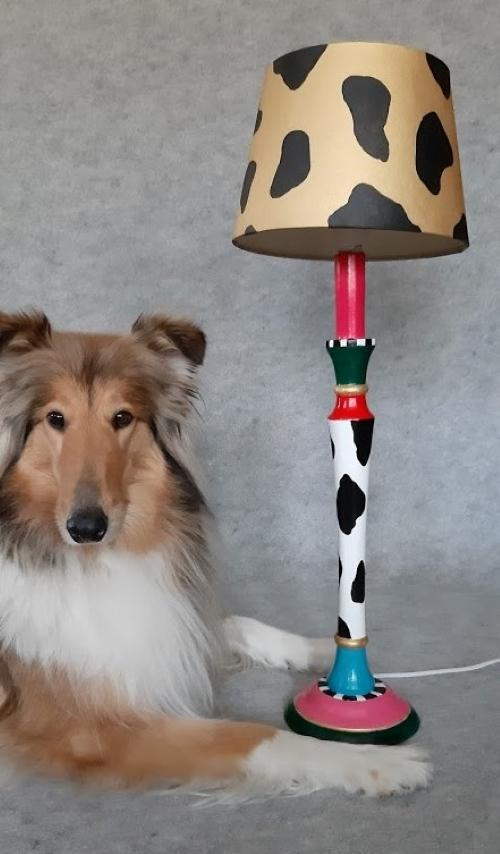 Hannahuuhaa Elsa-koira vasikointilamppu